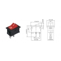 B100G /SWR-41/ (ON-OFF) (250v 3a)